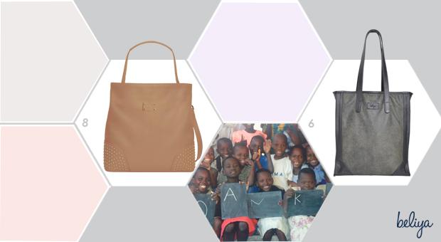 Crowdfunding   beliya   Upcycling Taschen   GRÜNE MODE