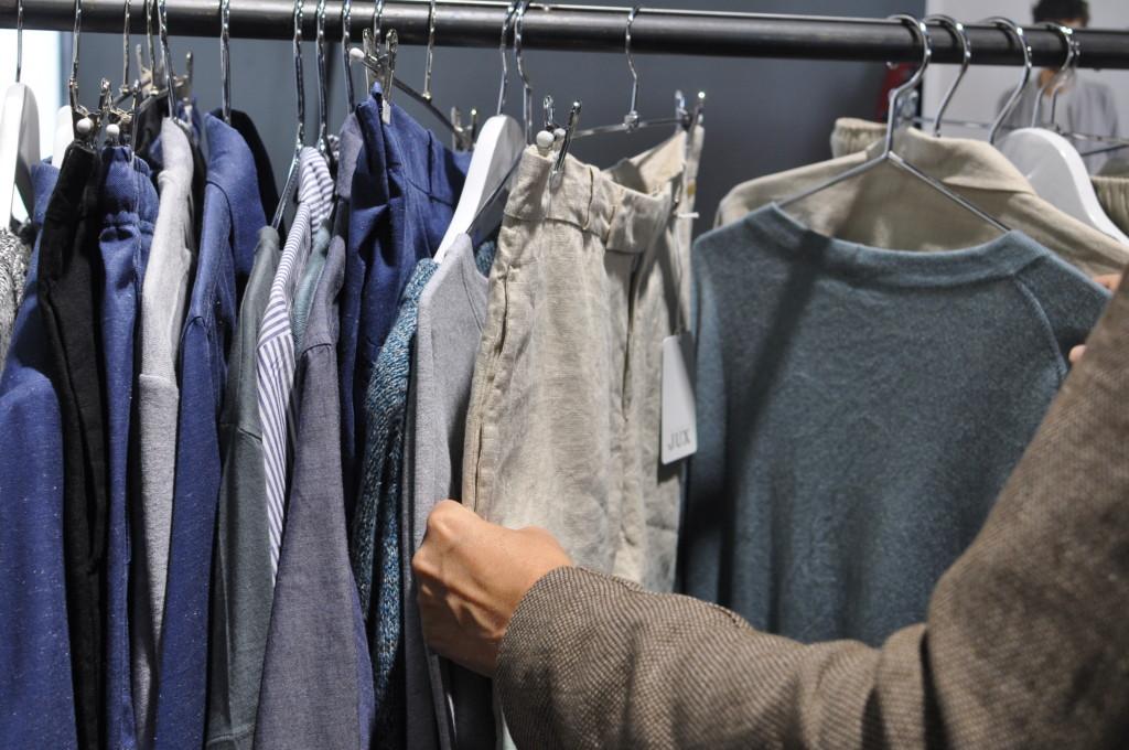 Studio Jux   Ethical Fashion Show   Green Showroom   SS16   Postbahnhof am Ostbahnhof   Foto: Alf-Tobias Zahn   GRÜNE MODE